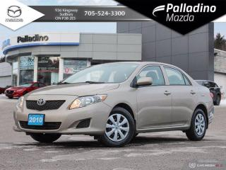 Used 2010 Toyota Corolla CE - NEW ALL SEASON TIRES - NO ACCIDENTS for sale in Sudbury, ON