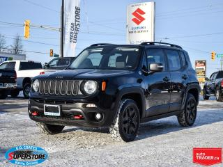 Used 2017 Jeep Renegade Deserthawk 4x4 ~Nav ~Cam ~Heated Seats/Wheel ~Roof for sale in Barrie, ON