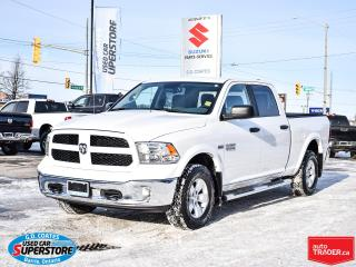 Used 2017 RAM 1500 Outdoorsman Crew Cab 4x4 ~8-Speed ~Cam ~Bluetooth for sale in Barrie, ON