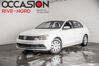 Used 2017 Volkswagen Jetta 1.4 TSI Trendline+ SIEGES.CHAUFFANTS+CAM.RECUL for sale in Boisbriand, QC