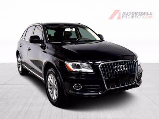 Used 2017 Audi Q5 PROGRESSIV CUIR TOIT PANO MAGS GPS CAMERA DE RECUL for sale in Île-Perrot, QC