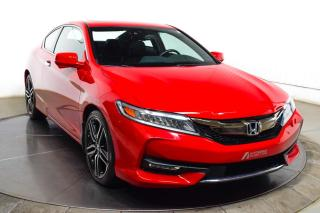 Used 2017 Honda Accord COUPE TOURING V6 CUIR TOIT GPS for sale in Île-Perrot, QC