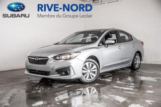 Used 2018 Subaru Impreza Convenience BLUETOOTH+CAM.RECUL+APPLE.CARPLAY for sale in Boisbriand, QC