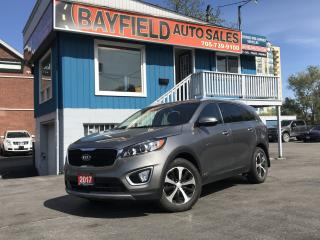 Used 2017 Kia Sorento EX Turbo AWD **Leather/Heated Seats/Reverse Camera** for sale in Barrie, ON