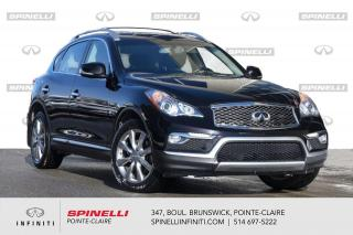 Used 2017 Infiniti QX50 AWD 4dr / TOIT / CUIR / CAMERA DEMARREUR - TOIT - CUIR - CAMERA for sale in Montréal, QC