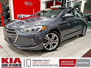 Used 2018 Hyundai Elantra Limited ** NAVI / CUIR / TOIT for sale in St-Hyacinthe, QC