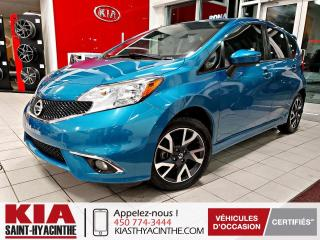 Used 2015 Nissan Versa Note SR ** CAMÉRA DE RECUL / MAGS for sale in St-Hyacinthe, QC