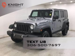 Used 2016 Jeep Wrangler Unlimited Sport | Black Bear Package | for sale in Regina, SK