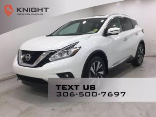 Used 2018 Nissan Murano Platinum AWD | Leather | Sunroof | Navigation | for sale in Regina, SK