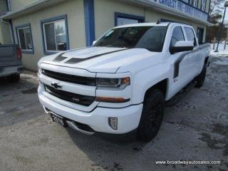 Used 2016 Chevrolet Silverado 1500 LOADED LT-Z71 EDITION 6 PASSENGER 5.3L - V8.. 4X4.. CREW-CAB.. SHORTY.. NAVIGATION.. LEATHER.. HEATED SEATS.. BACK-UP CAMERA.. BLUETOOTH SYSTEM.. for sale in Bradford, ON