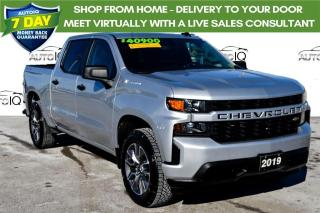 Used 2019 Chevrolet Silverado 1500 Silverado Custom HEATED LEATHER SEATS for sale in Grimsby, ON