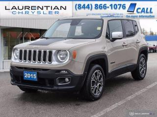 Used 2015 Jeep Renegade Limited!!  HEATED SEATS!! HEATED WHEEL!!   4WD!! for sale in Sudbury, ON