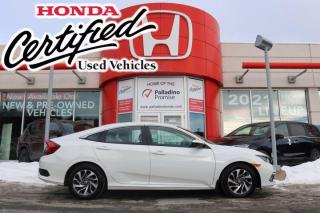 Used 2019 Honda Civic Sedan EX - HONDA CERTIFIED - RATES STARTING @ 3.69% OAC for sale in Sudbury, ON