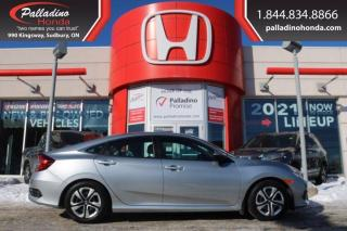 Used 2018 Honda Civic Sedan LX - HEATED SEATS BACK UP CAMERA - for sale in Sudbury, ON