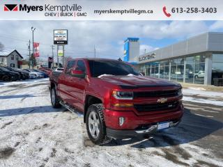 Used 2018 Chevrolet Silverado 1500 LT  - Bluetooth for sale in Kemptville, ON