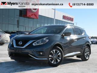 Used 2018 Nissan Murano AWD SL  - Sunroof -  Navigation for sale in Kanata, ON