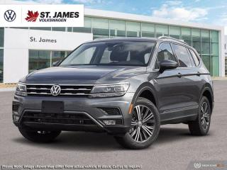New 2021 Volkswagen Tiguan Highline for sale in Winnipeg, MB
