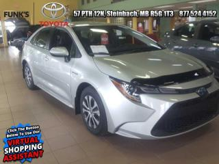 New 2021 Toyota Corolla Hybrid Premium CVT  - Softex Seats for sale in Steinbach, MB