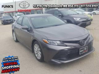 Used 2018 Toyota Camry LE  - Heated Seats -  Bluetooth for sale in Steinbach, MB