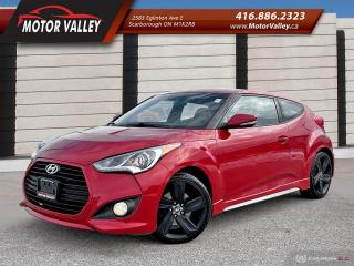 Used 2013 Hyundai Veloster Turbo w/Tech Pkg! 6MT Only 063,667KM Navigation! for sale in Scarborough, ON