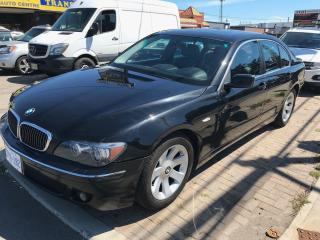 Used 2006 BMW 7 Series 750i for sale in Mississauga, ON