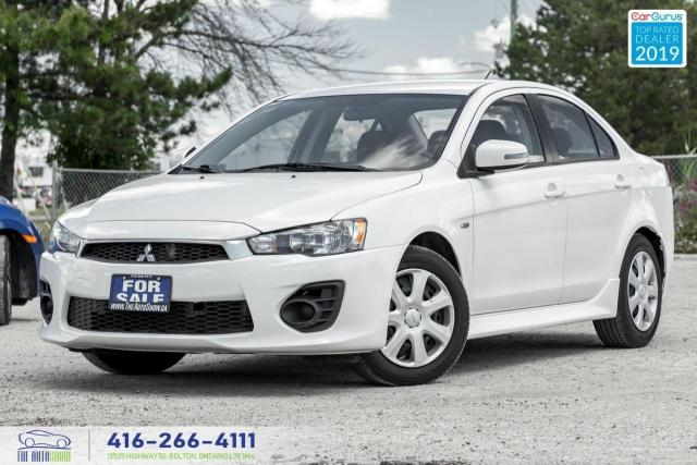 2016 Mitsubishi Lancer ES|Heated seats|Cruise|Low kms|
