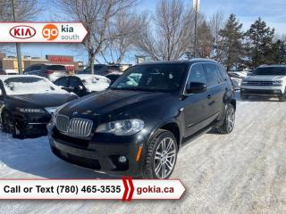 Used 2012 BMW X5 X5 50I; PANORAMIC SUNROOF, AWD, WINTER TIRES, HEATED SEATS, LEATHER, NAV, HUD, BACKUP CAMERA, BUTTON START, 3M, BLUETOOTH for sale in Edmonton, AB