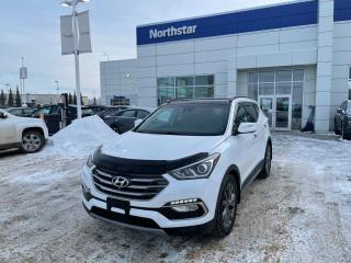 Used 2018 Hyundai Santa Fe Sport ULTIMATE/ADAPTIVECRUISE/PANOROOF/NAV/COOLEDSEATS for sale in Edmonton, AB