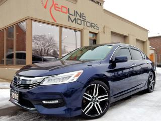 Used 2016 Honda Accord Touring.Navi.Cam.LaneAssist.RadarCruise.BlindSpt for sale in Kitchener, ON