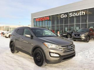 Used 2015 Hyundai Santa Fe Sport LIMITED, AWD, HEATED LEATHER SEATS, NAVIGATION, SUNROOF for sale in Edmonton, AB