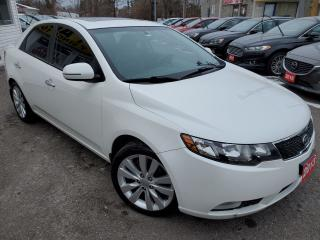 Used 2013 Kia Forte SX/LEATHER/ROOF/BLUETOOTH/LOADED/ALLOYS for sale in Scarborough, ON