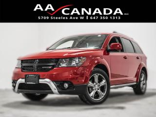 Used 2017 Dodge Journey 7 PASSENGERS|LEATHER|SUNROOF|NAVI|BACK UP for sale in North York, ON