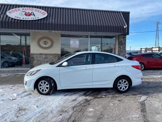 Used 2013 Hyundai Accent 4dr Sdn Auto GAS SAVER SAFETY CERTIFED NO ACCODENT for sale in Oakville, ON