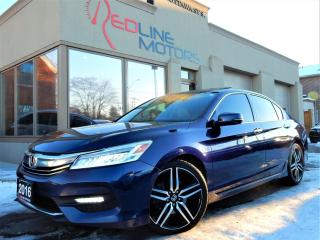Used 2016 Honda Accord V6 Touring.Navi.Camera.RadarCruise.LaneAssist.BSM for sale in Kitchener, ON
