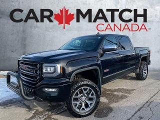 Used 2016 GMC Sierra 1500 ALL TERRAIN  / LEATHER / CREW CAB for sale in Cambridge, ON