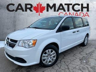 Used 2019 Dodge Grand Caravan CVP / NO ACCIDENTS / NOT A RENTAL for sale in Cambridge, ON