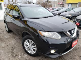 Used 2014 Nissan Rogue SV/AWD/B.CAM/PANO SUNROOF/BT/ALLOYSPWR SEATS for sale in Scarborough, ON