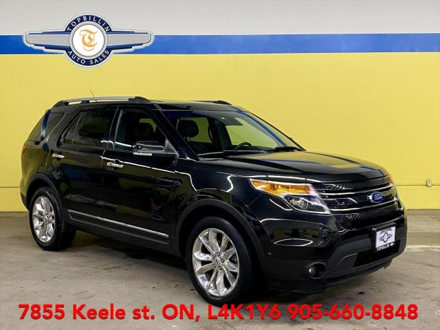 2015 Ford Explorer Limited, Navi, Pano Roof, Active Cruse