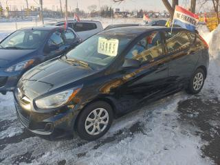 Used 2013 Hyundai Accent GL ***WOW A 2013 WITH LOW KMS FOR ONLY $5995*** for sale in Hamilton, ON