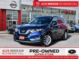 Used 2018 Nissan Rogue SV   Remote Strt   Push Strt   Rear CAM   BSW for sale in Richmond Hill, ON