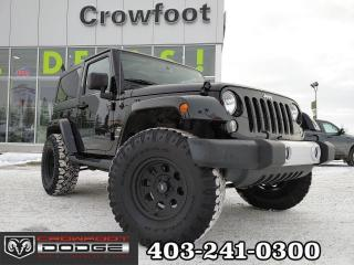 Used 2015 Jeep Wrangler SAHARA WITH NAV for sale in Calgary, AB