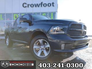 Used 2014 RAM 1500 SPORT WITH LEATHER CREWCAB for sale in Calgary, AB