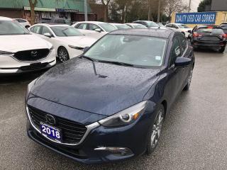Used 2018 Mazda MAZDA3 Sport GT 6sp for sale in Burnaby, BC