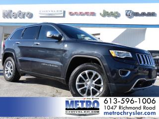 Used 2016 Jeep Grand Cherokee Limited 4x4 Fully Loaded for sale in Ottawa, ON