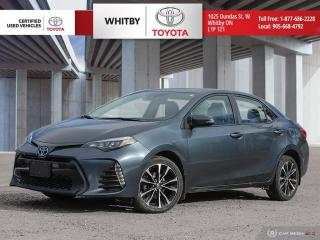 Used 2018 Toyota Corolla SE for sale in Whitby, ON