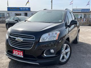 Used 2016 Chevrolet Trax LTZ for sale in Whitby, ON