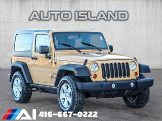 Used 2013 Jeep Wrangler 4WD 2dr Sport for sale in North York, ON