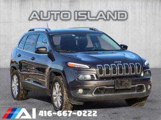 Used 2014 Jeep Cherokee LIMITED**4X4*LEATHER for sale in North York, ON