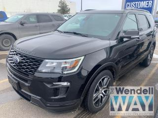 Used 2018 Ford Explorer Sport Nav/Roof/Leather for sale in Kitchener, ON