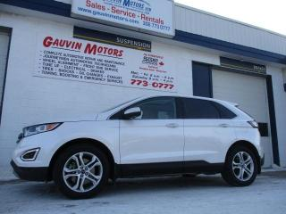 Used 2017 Ford Edge Titanium Top of The Line Model for sale in Swift Current, SK